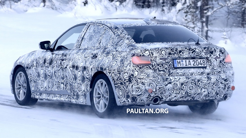 SPIED: G20 BMW 3 Series drops yet more camouflage Image #775273
