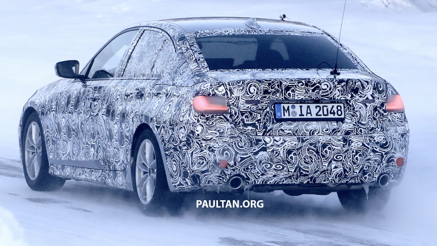 SPIED: G20 BMW 3 Series drops yet more camouflage Image #775275