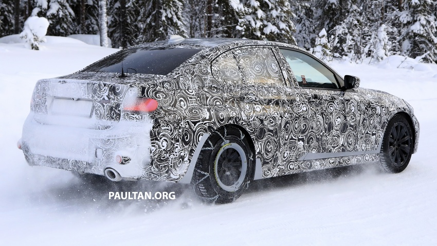 SPIED: G20 BMW 3 Series drops yet more camouflage Image #775265