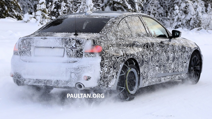 SPIED: G20 BMW 3 Series drops yet more camouflage Image #775266