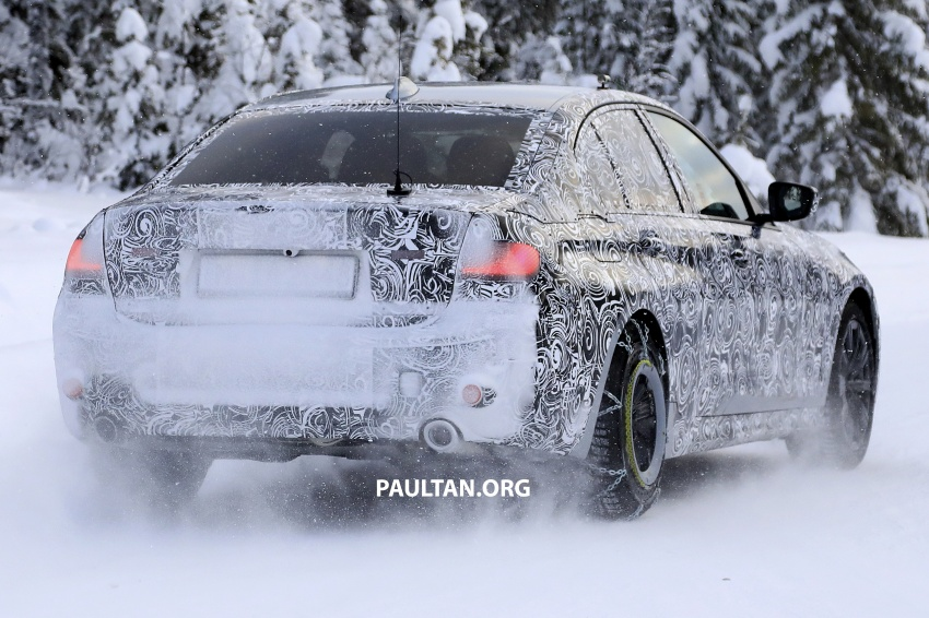 SPIED: G20 BMW 3 Series drops yet more camouflage Image #775267