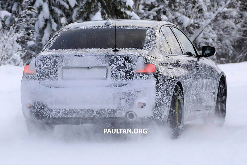 SPIED: G20 BMW 3 Series drops yet more camouflage Image #775268