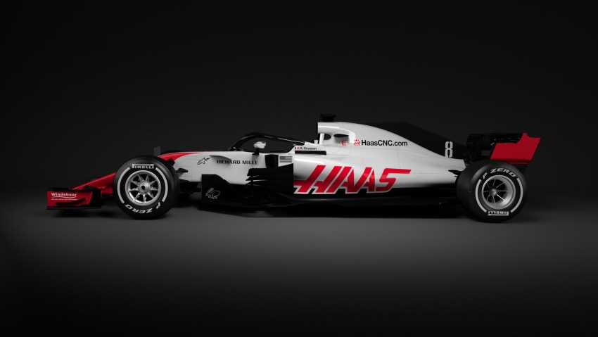 Haas VF-18 – first 2018 Formula One racer unveiled Image #779423