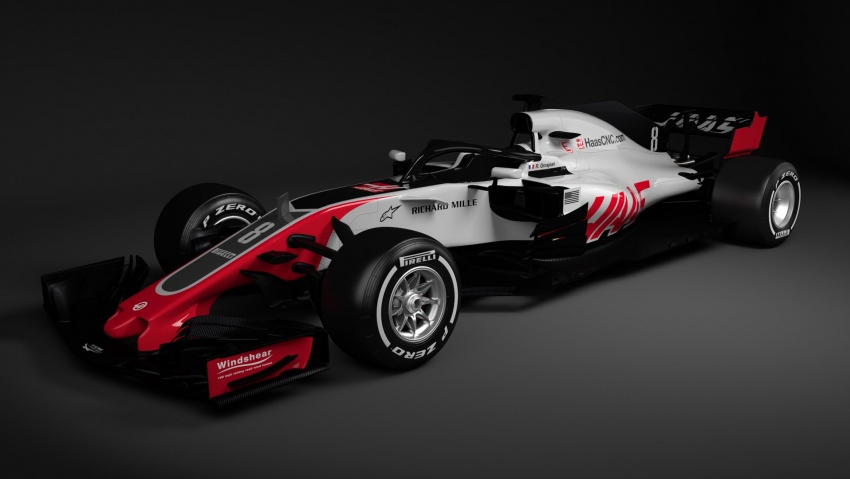 Haas VF-18 – first 2018 Formula One racer unveiled Image #779424