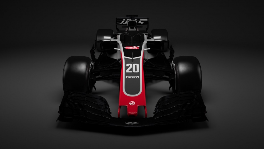 Haas VF-18 – first 2018 Formula One racer unveiled Image #779425