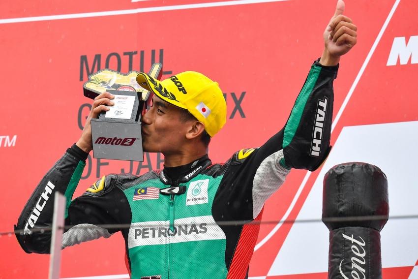 Hafizh Syahrin naik ke MotoGP ganti Jonas Folger? Image #773686