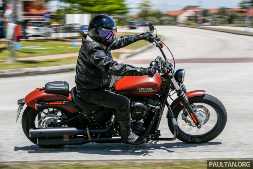 2018 Harley-Davidson Street Bob first ride in Malaysia Image #778921