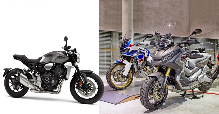 Honda X-ADV, CRF1000L, CB1000R di M'sia separuh pertama 2018 – harga bawah RM70k, RM80k, RM90k Image #774711