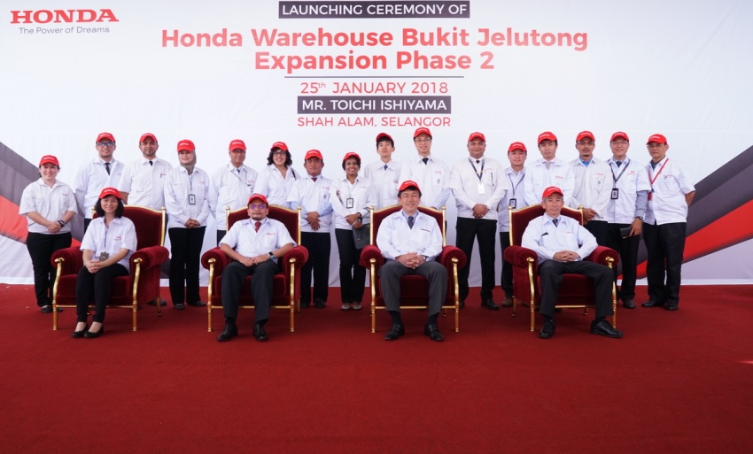 Honda Malaysia invests RM11 million to expand Bukit Jelutong parts warehouse to meet after-sales demands Image #774113