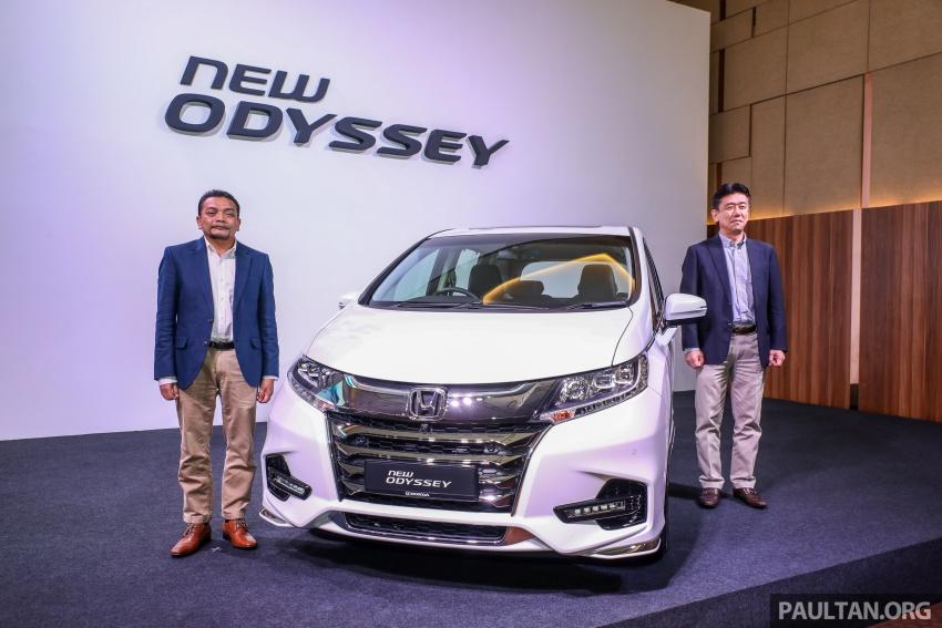 Honda Odyssey facelift kini tiba ke pasaran Malaysia – CBU, hanya satu varian, Honda Sensing, RM254,800 Image #775999