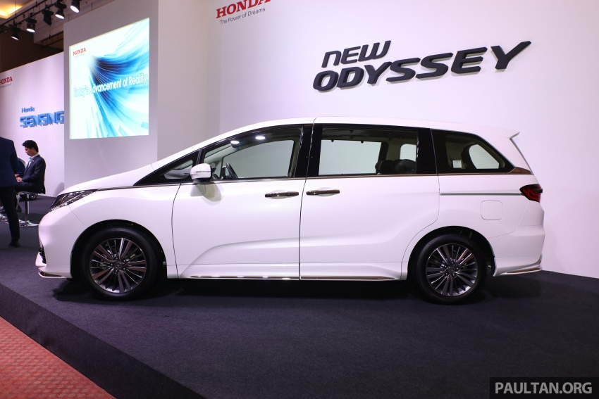 Honda Odyssey facelift kini tiba ke pasaran Malaysia – CBU, hanya satu varian, Honda Sensing, RM254,800 Image #776002