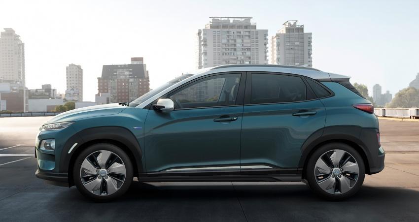 Hyundai Kona Electric – jarak gerak elektrik 470 km Image #784307