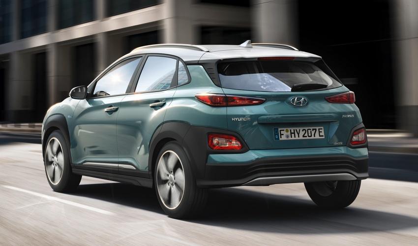 Hyundai Kona Electric – jarak gerak elektrik 470 km Image #784309