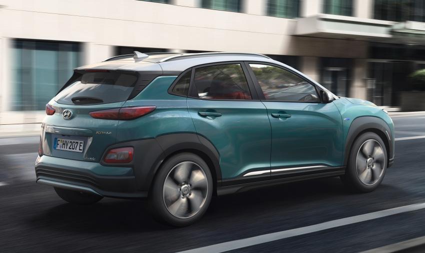 Hyundai Kona Electric – jarak gerak elektrik 470 km Image #784310