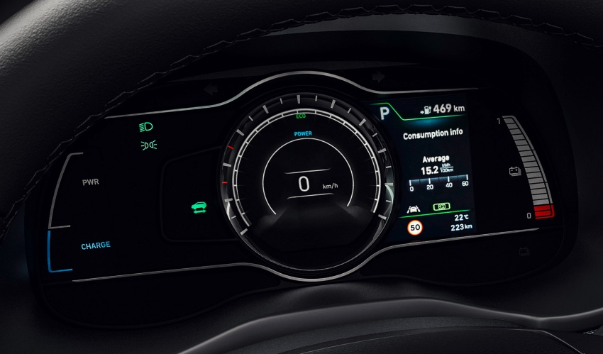Hyundai Kona Electric – jarak gerak elektrik 470 km Image #784315
