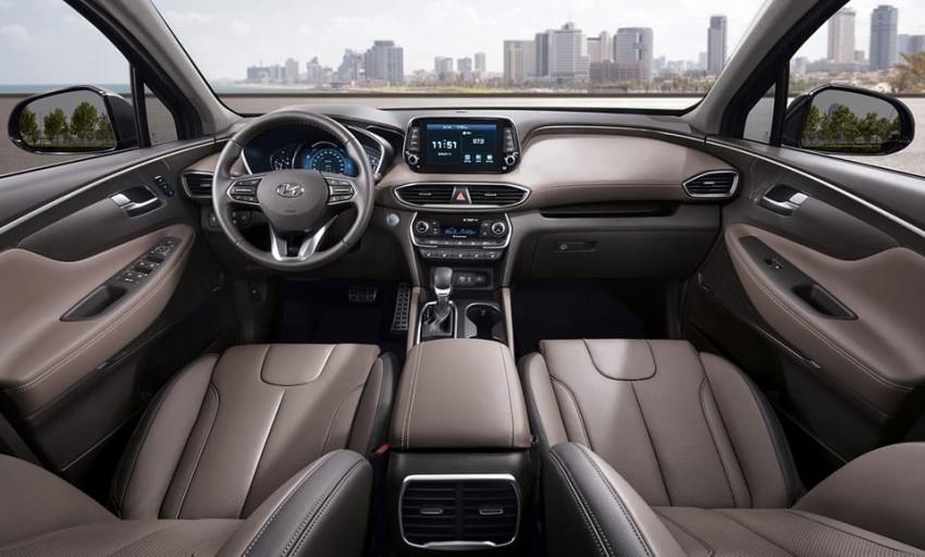 Hyundai Santa Fe 2018 – gambar awal mula ditunjuk Image #775844