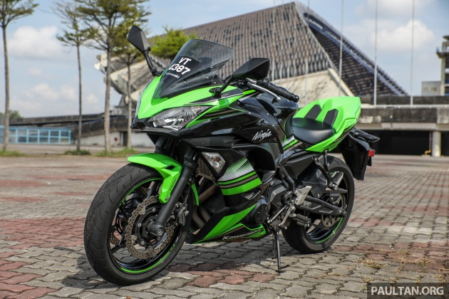 As A Pair The Kawasaki Z650 And Ninja 650 Share More Than Few Common Items This Is In Keeping With What Car Makers Call Platform Sharing