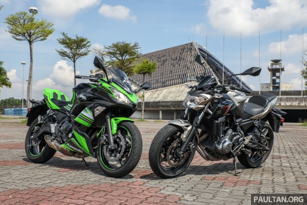 Review New Kawasaki Ninja 650 And Z650 In Malaysia Rm36k Rm38k