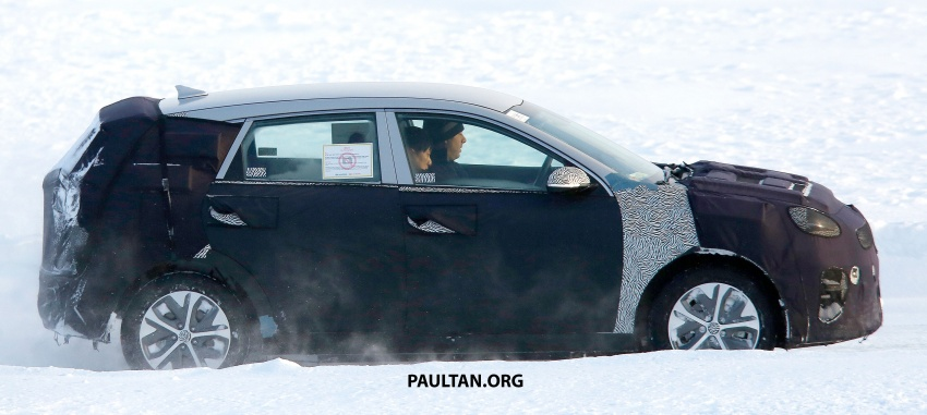 SPYSHOTS: Kia Niro EV spotted cold-weather testing Image #776553