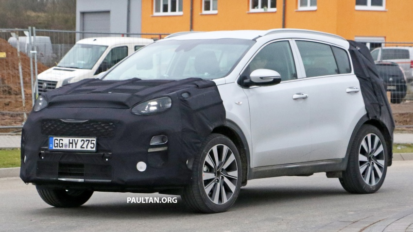 SPYSHOTS: Kia Sportage facelift set to get new face Image #777735