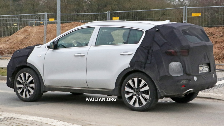 SPYSHOTS: Kia Sportage facelift set to get new face Image #777738