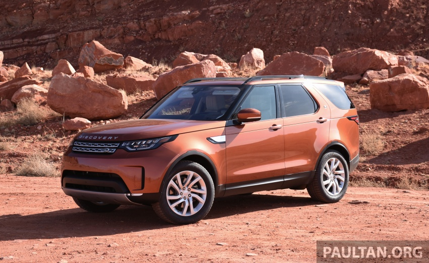 DRIVEN: L462 Land Rover Discovery – all-round ability Image #781275