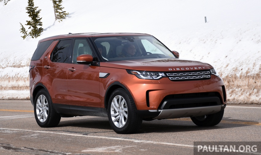 DRIVEN: L462 Land Rover Discovery – all-round ability Image #781280
