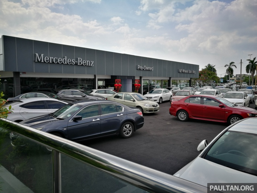 Mercedes-Benz Malaysia launches NZ Wheels Klang Autohaus 3S centre – 320,000 sq ft, RM6m upgrade Image #783472
