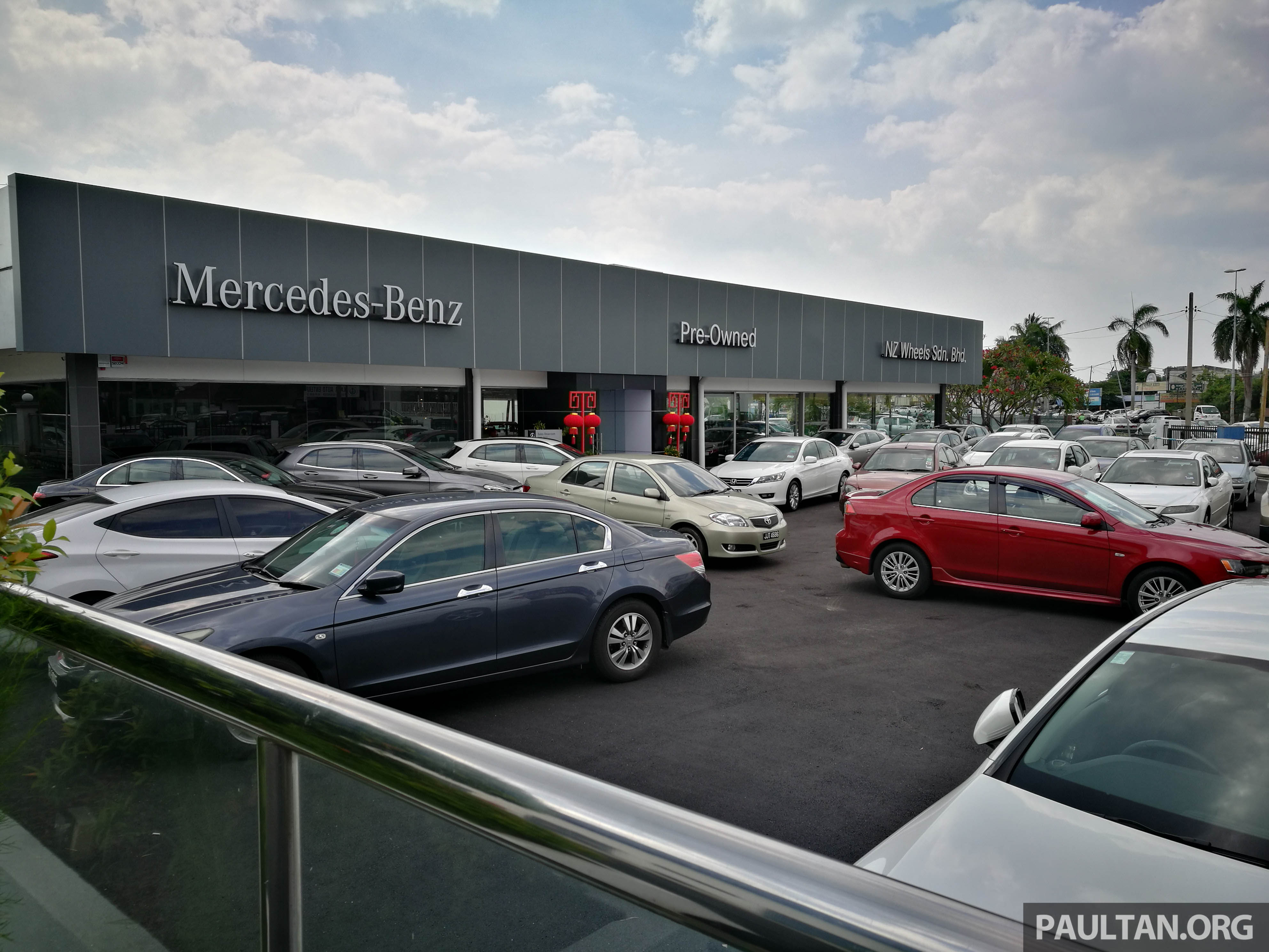 Mercedes-Benz Malaysia launches NZ Wheels Klang Autohaus 3S centre – 320,000 sq ft,
