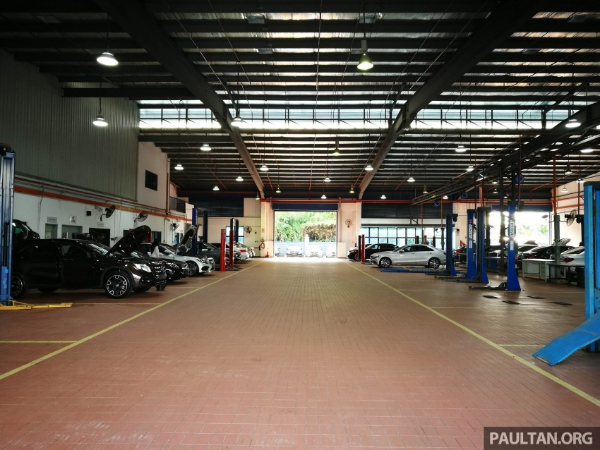 Mercedes-Benz Malaysia launches NZ Wheels Klang Autohaus 3S centre – 320,000 sq ft, RM6m upgrade Image #783543