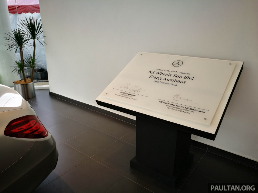 Mercedes-Benz Malaysia launches NZ Wheels Klang Autohaus 3S centre – 320,000 sq ft, RM6m upgrade Image #783546
