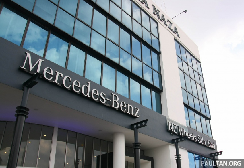 Mercedes-Benz Malaysia launches NZ Wheels Klang Autohaus 3S centre – 320,000 sq ft, RM6m upgrade Image #783474