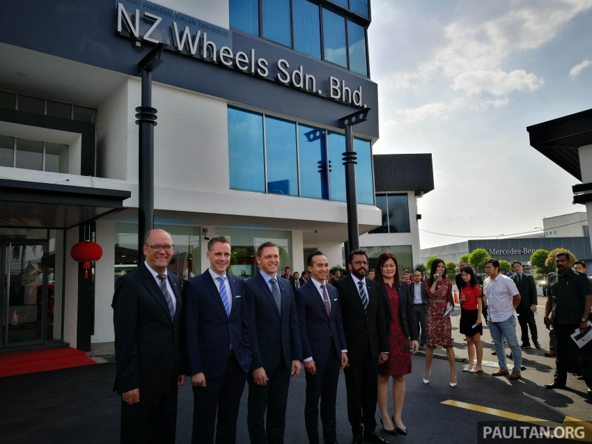 Mercedes-Benz Malaysia launches NZ Wheels Klang Autohaus 3S centre – 320,000 sq ft, RM6m upgrade Image #783508