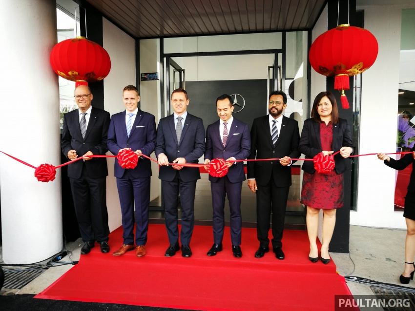 Mercedes-Benz Malaysia launches NZ Wheels Klang Autohaus 3S centre – 320,000 sq ft, RM6m upgrade Image #783509
