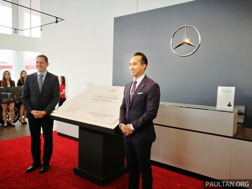 Mercedes-Benz Malaysia launches NZ Wheels Klang Autohaus 3S centre – 320,000 sq ft, RM6m upgrade Image #783512