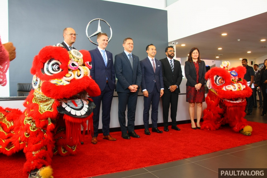 Mercedes-Benz Malaysia launches NZ Wheels Klang Autohaus 3S centre – 320,000 sq ft, RM6m upgrade Image #783513