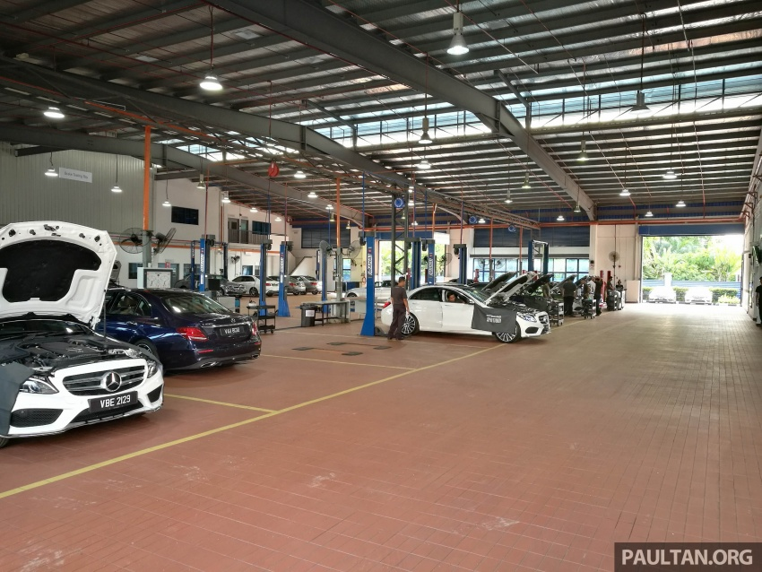 Mercedes-Benz Malaysia launches NZ Wheels Klang Autohaus 3S centre – 320,000 sq ft, RM6m upgrade Image #783521