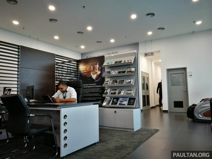 Mercedes-Benz Malaysia launches NZ Wheels Klang Autohaus 3S centre – 320,000 sq ft, RM6m upgrade Image #783528
