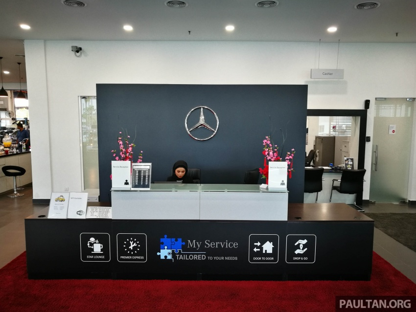Mercedes-Benz Malaysia launches NZ Wheels Klang Autohaus 3S centre – 320,000 sq ft, RM6m upgrade Image #783529