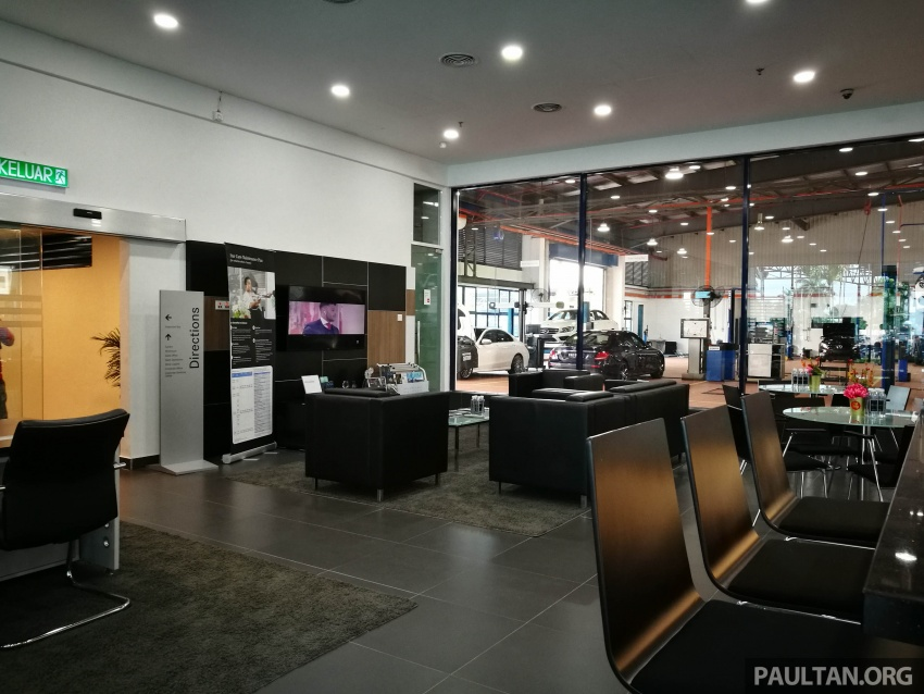 Mercedes-Benz Malaysia launches NZ Wheels Klang Autohaus 3S centre – 320,000 sq ft, RM6m upgrade Image #783535