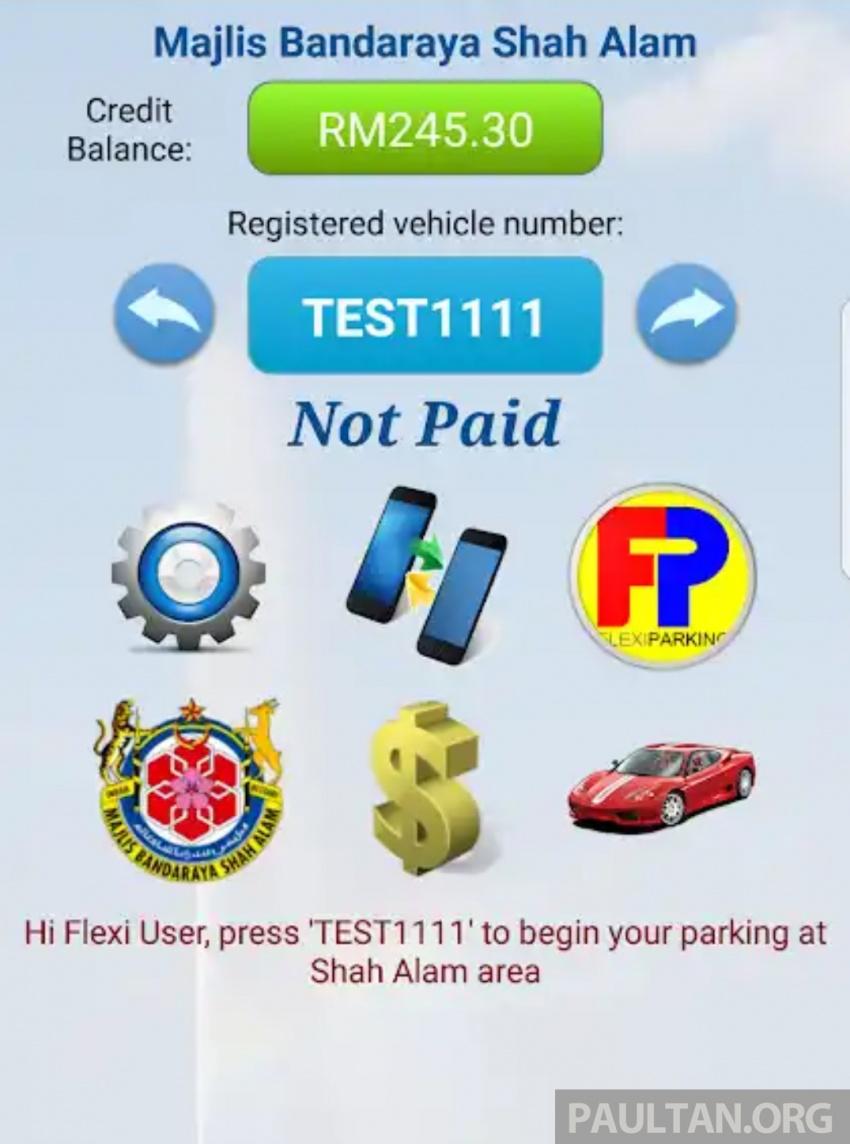 Pengguna boleh bayar kompaun dengan 'Scan & Pay Compound' menerusi aplikasi Flexi Parking – MBSA Image #783951