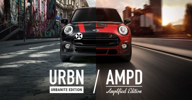 Mini Urbanite And Amplified Special Editions Launched In Malaysia