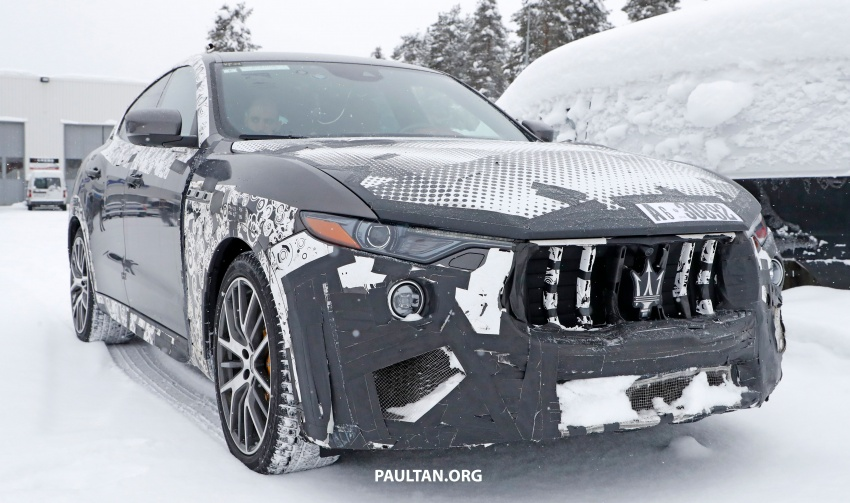 SPYSHOTS: Maserati Levante GTS does winter testing Image #778540