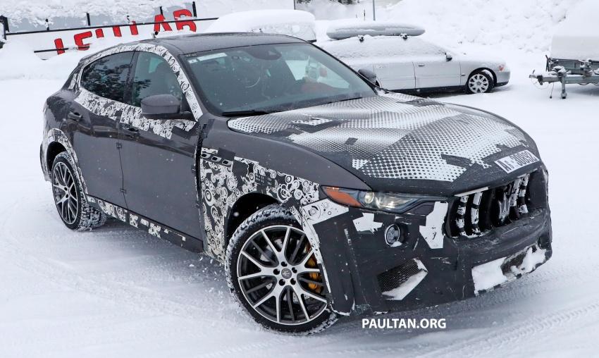 SPYSHOTS: Maserati Levante GTS does winter testing Image #778546