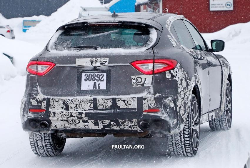SPYSHOTS: Maserati Levante GTS does winter testing Image #778550