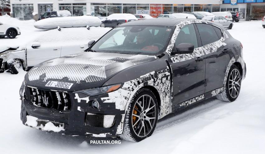 SPYSHOTS: Maserati Levante GTS does winter testing Image #778535