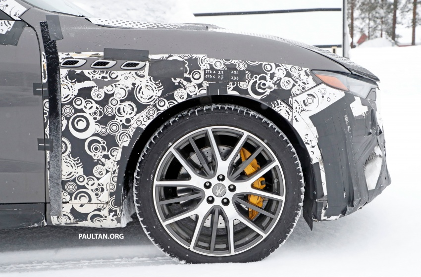 SPYSHOTS: Maserati Levante GTS does winter testing Image #778536