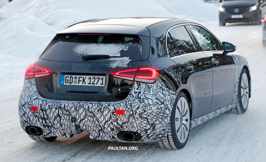 SPIED: 2018 Mercedes-AMG A35 shows more skin Image #782146