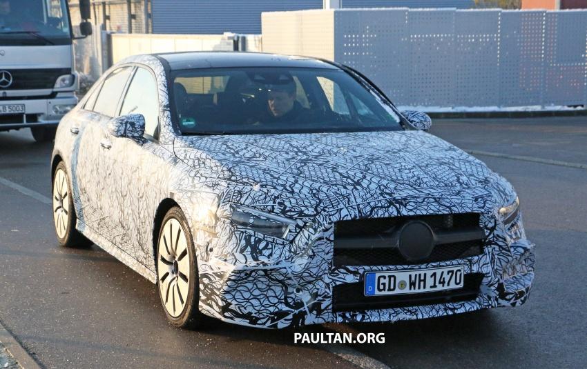 SPYSHOTS: Mercedes-AMG A35 Sedan spotted testing Image #775497