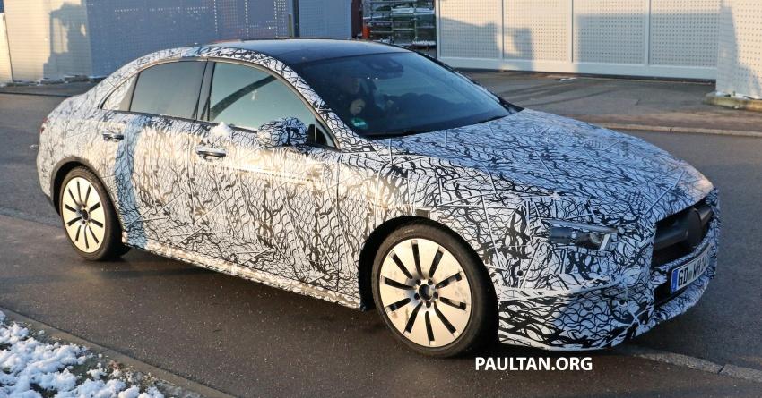 SPYSHOTS: Mercedes-AMG A35 Sedan spotted testing Image #775498